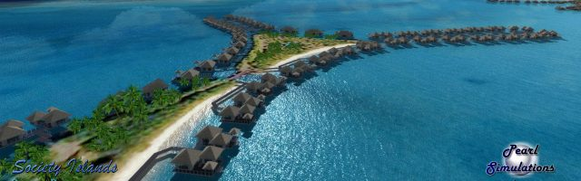 Flight Sim Jewels - French Polynesia - The Society Islands v2 preview July 16