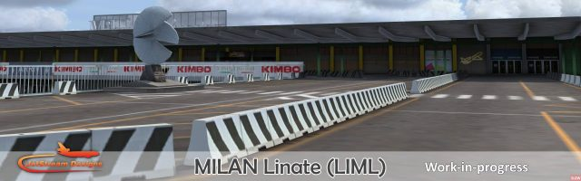Jetstream Designs - Milan Linate LIML preview July 2016