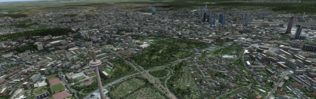 Prealsoft - HD Cities Frankfurt City FSX P3D