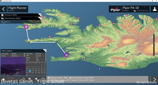 The new flight planner. It misses some functionality, but is a move in the right direction.