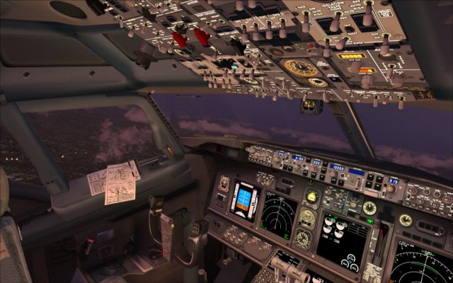 iFly - 737-700 NG virtual cockpit