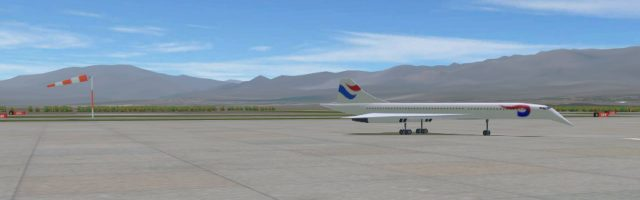 Airport Madness 3D - concorde