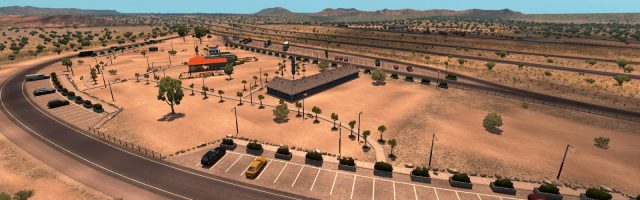 American Truck Simulator - Rescaled map preview