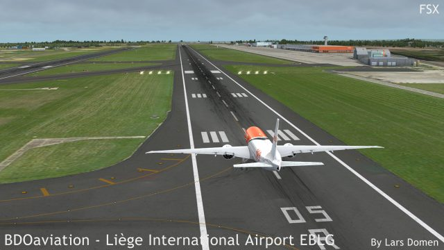 Take a look at the quality of both the hardened surfaces, and the rest of the airport terrain. Both look very good if you ask me.