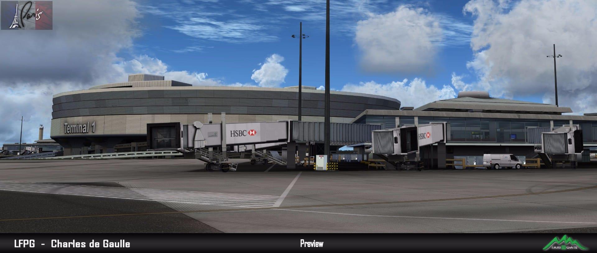 Taxi2Gate – Paris CDG Terminal 1 preview