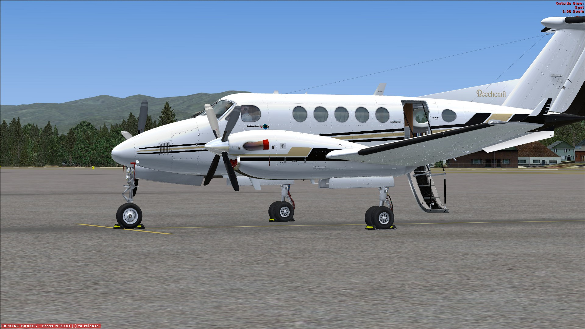 Flight 1 King Air B200 And Cessna Citation Mustang For