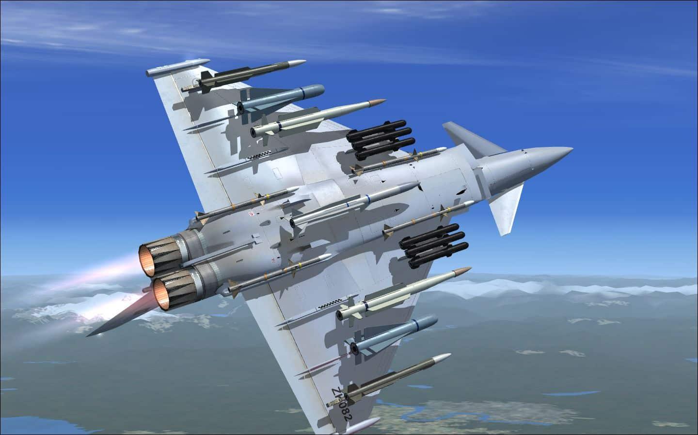 FlyFreeStd – Eurofighter EF-2000 Typhoon V2 FSX