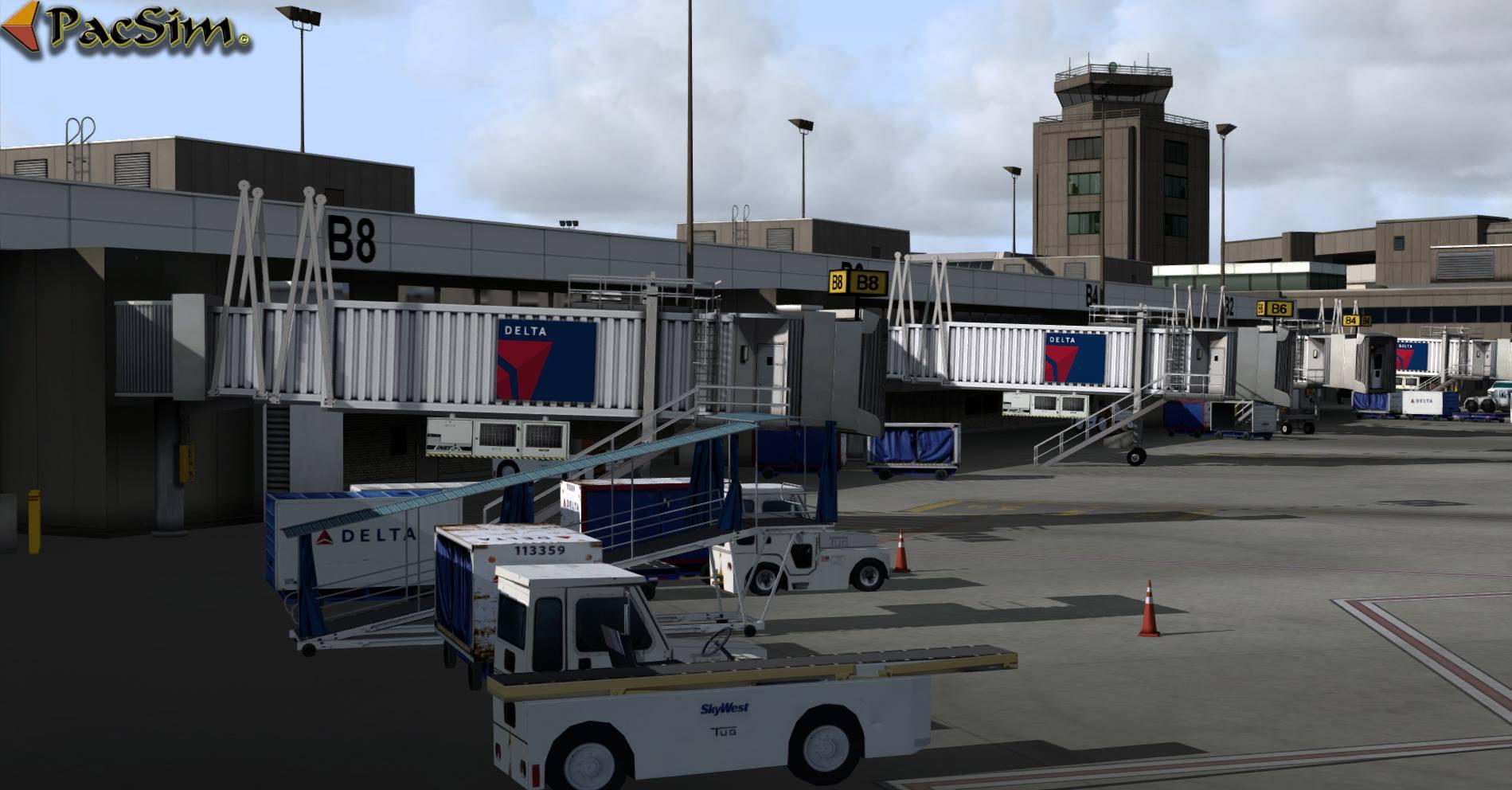 Pacific Islands Simulation – KSLC Salt Lake City
