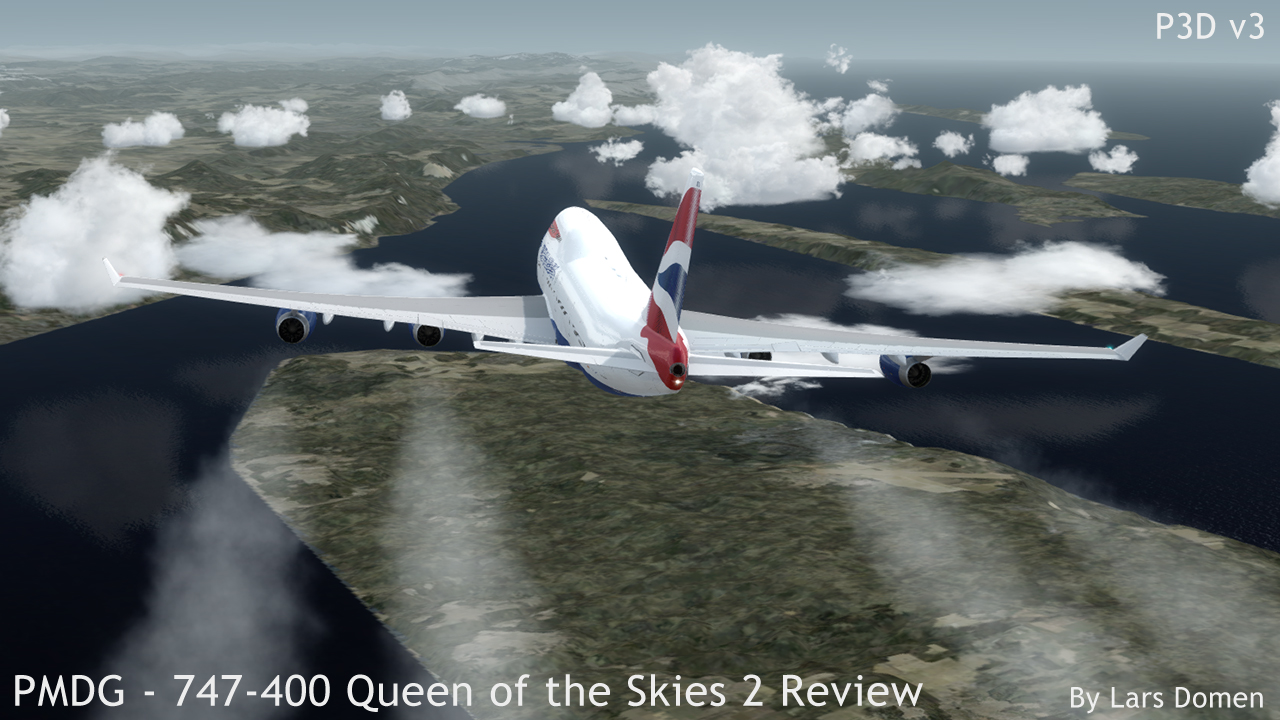 PMDG – 747-400 Queen of the Skies II First Impressions Review