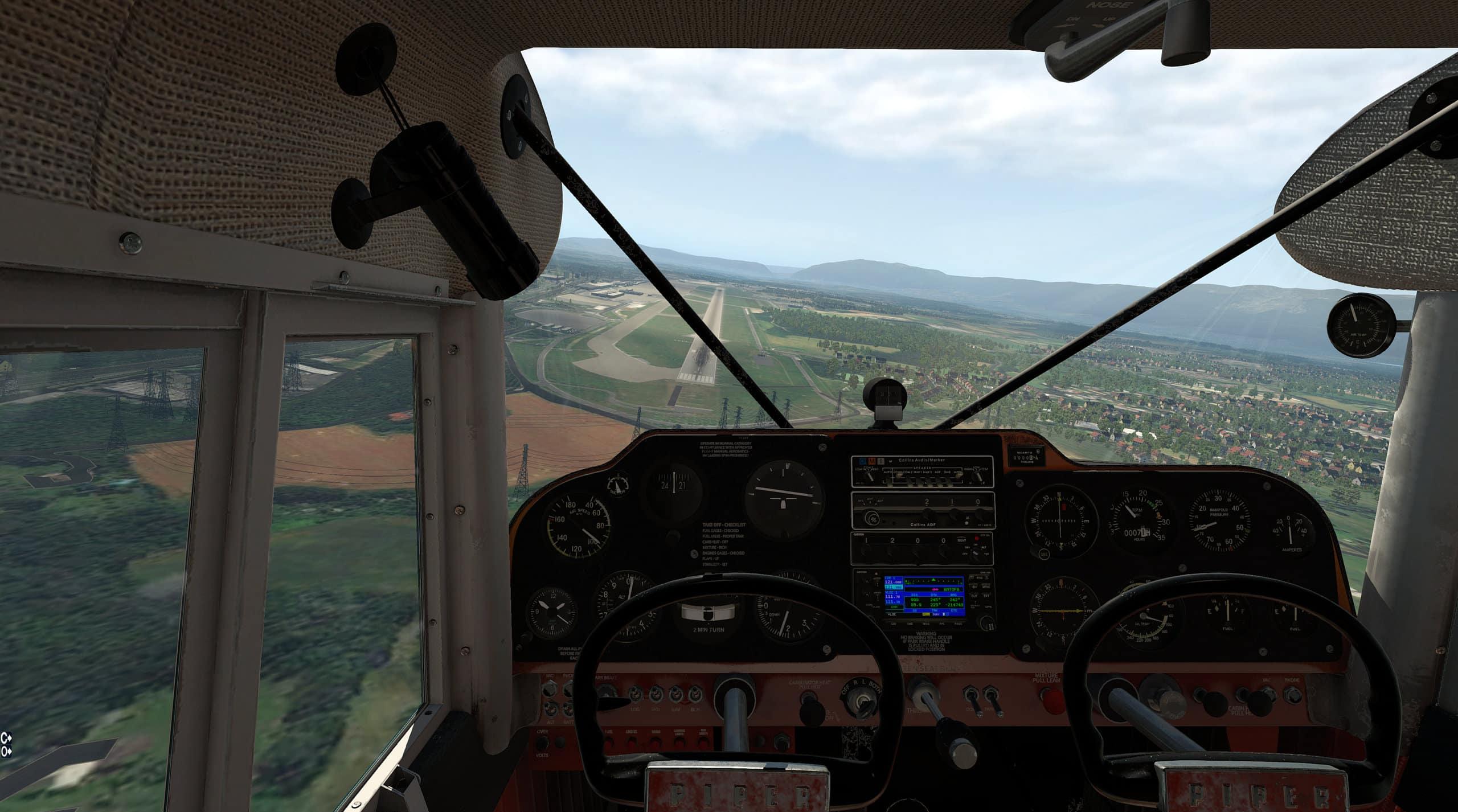 Alabeo – PA-22 Tri Pacer X-Plane 10 5/11
