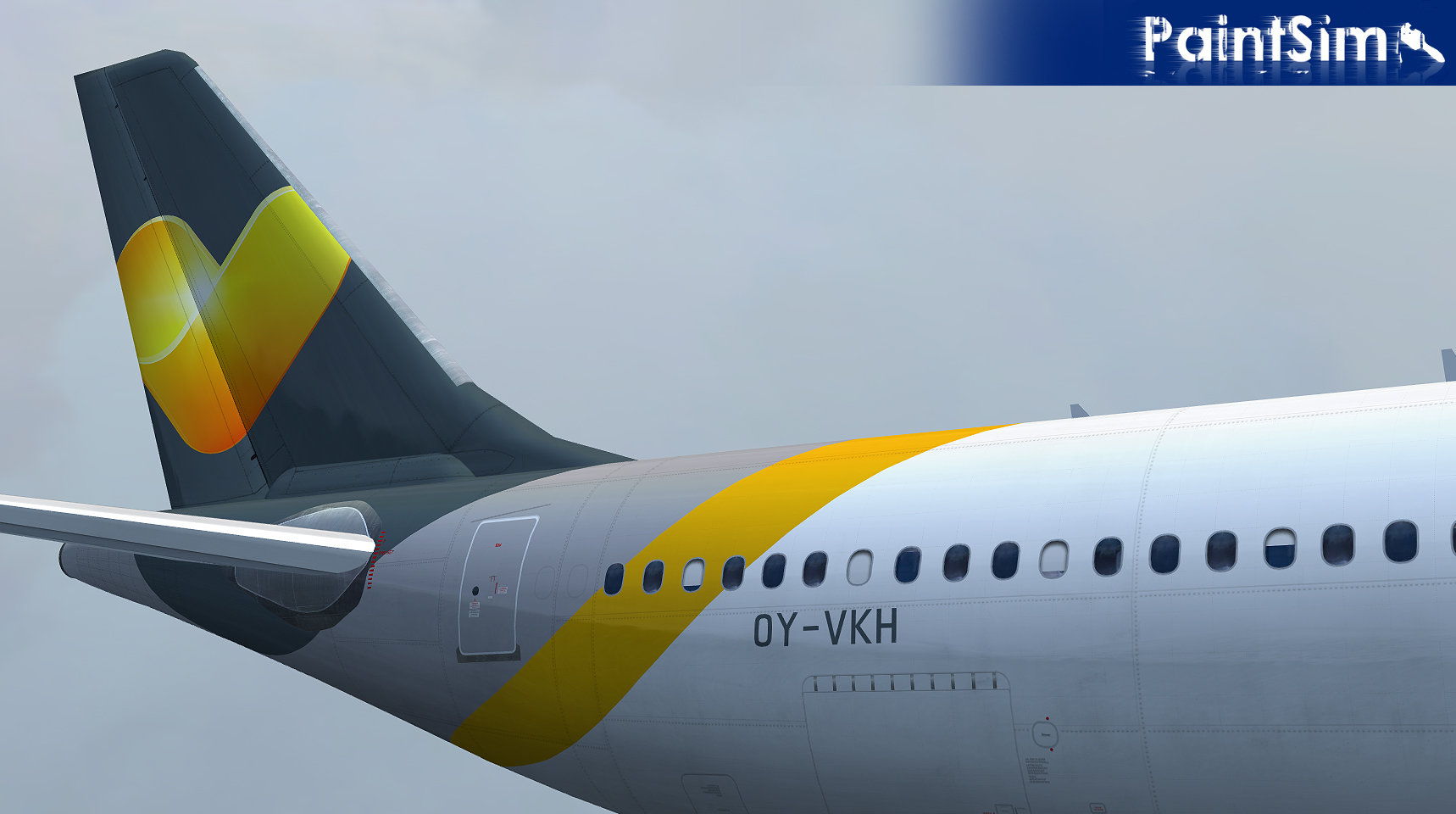 PaintSim – UHD Texture Pack Wilco Airbus A330-300 FSX
