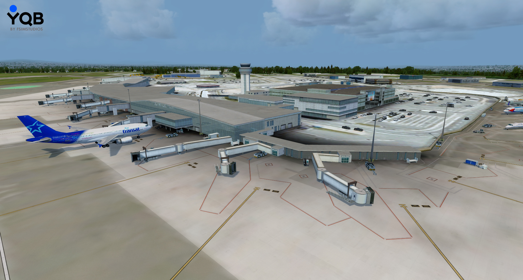 Aeroporto Quebec City : Simflight