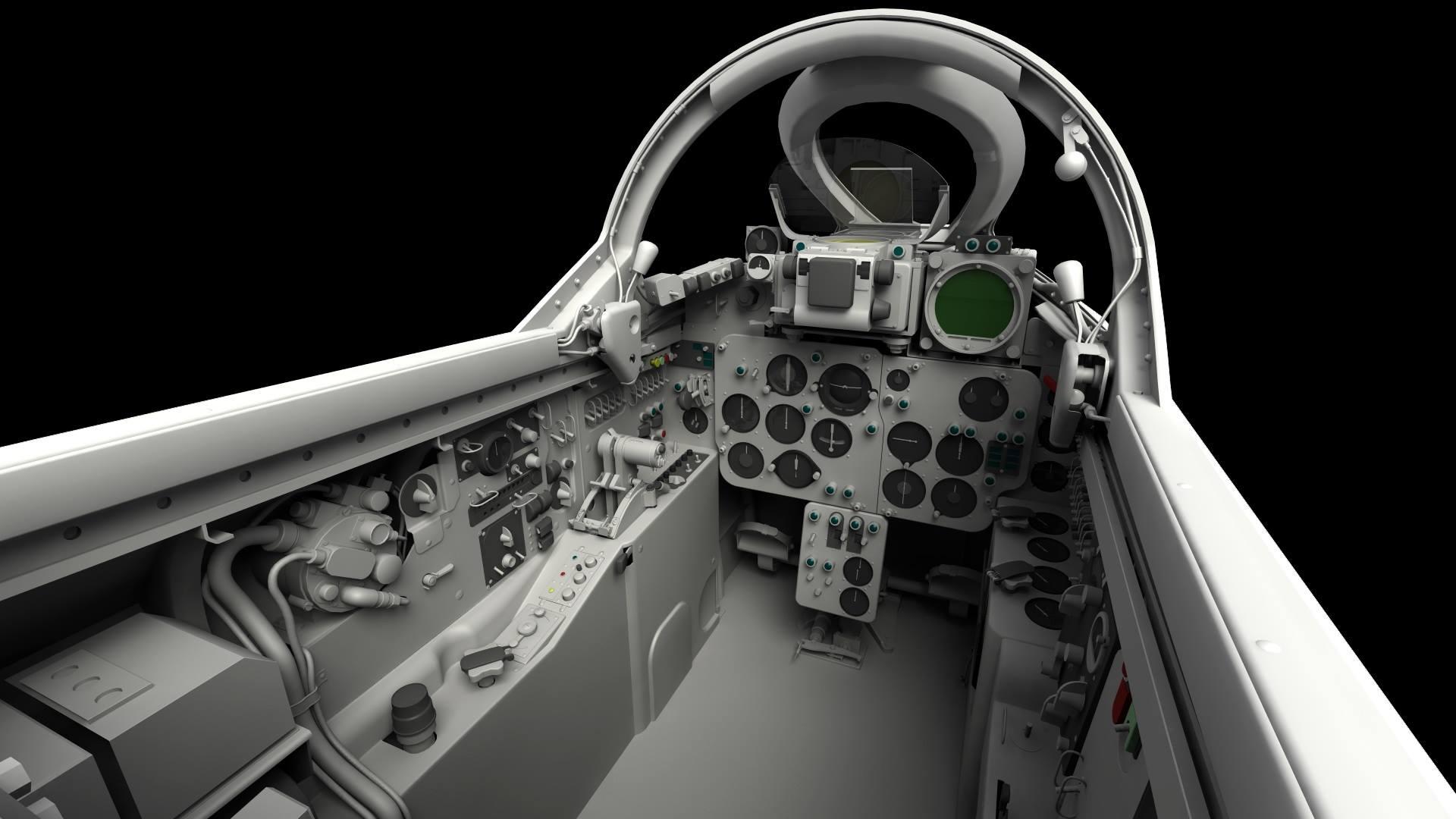 Mig 19 Cockpit