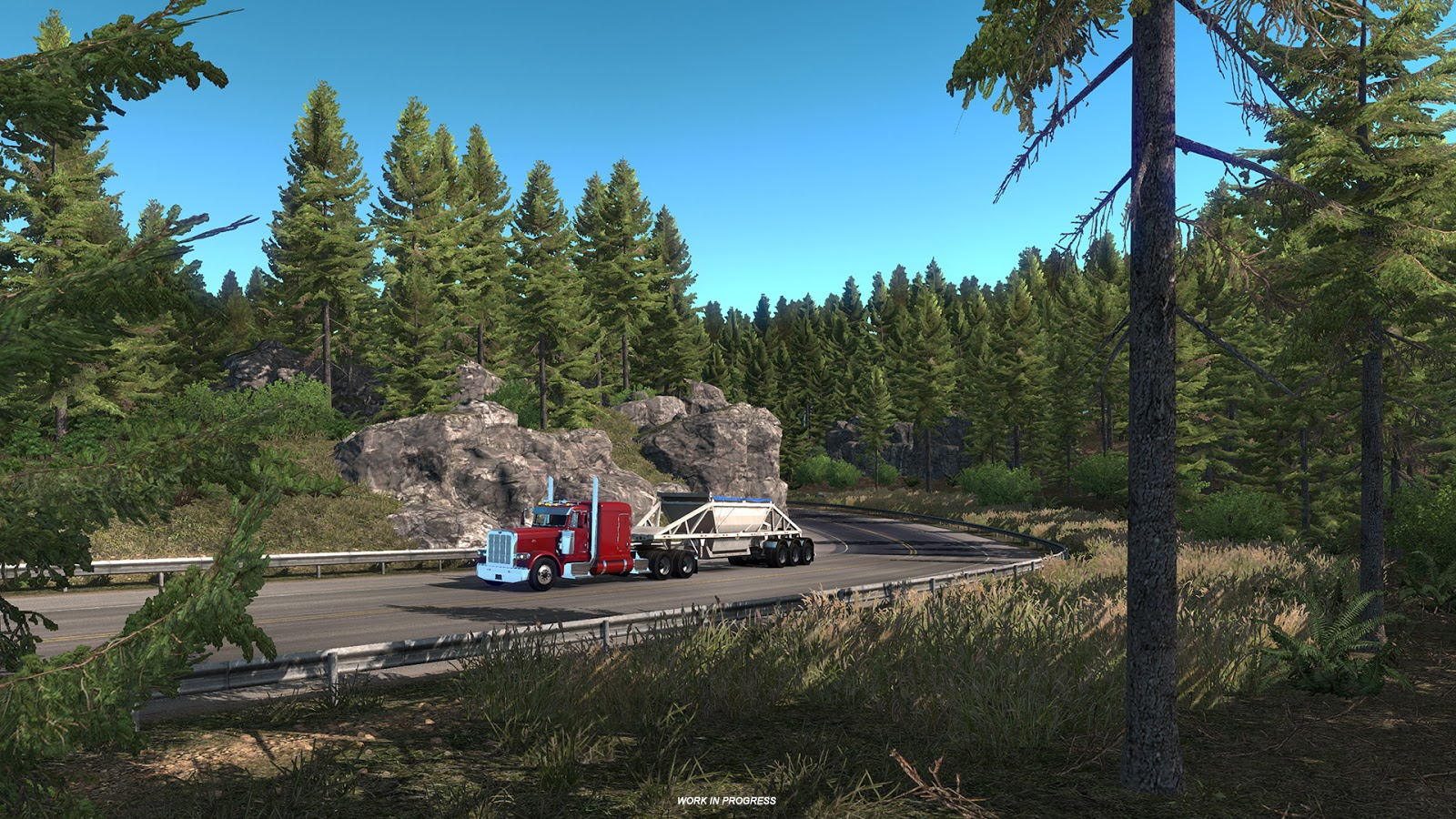 american truck simulator oregon dlc preview. Black Bedroom Furniture Sets. Home Design Ideas