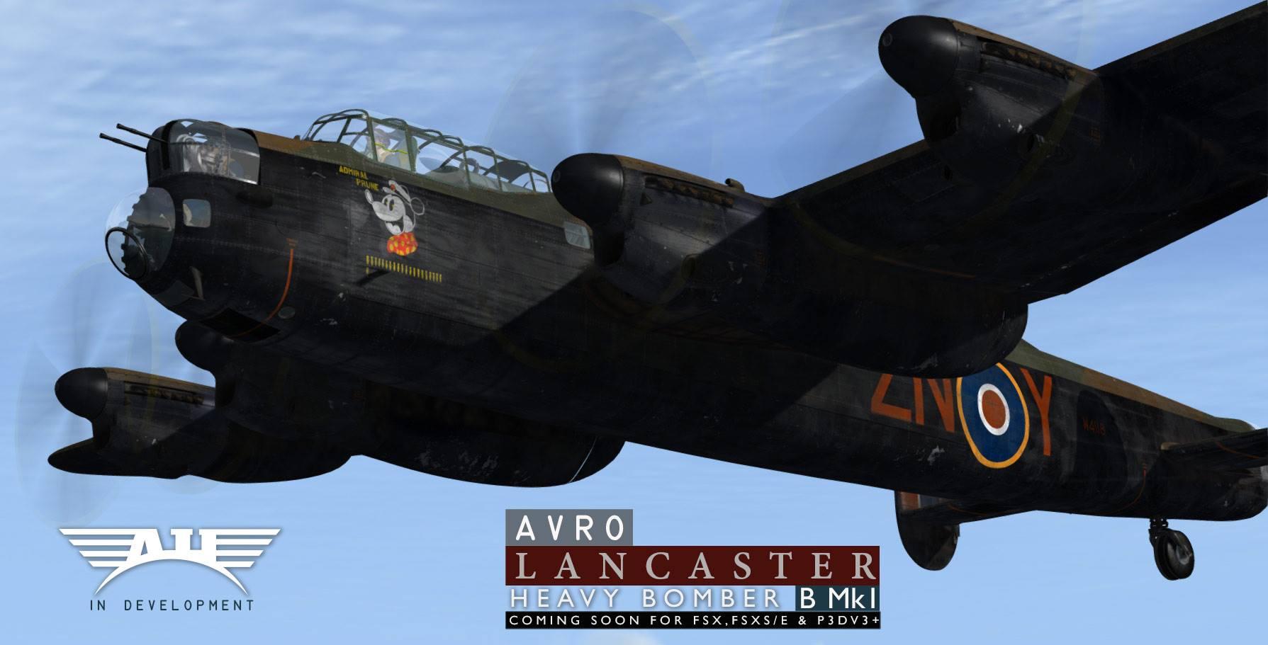 prepar3d / fsx] Lancaster B Mk I realeased for V4 (Sparks