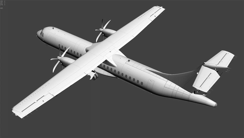 MilViz – ATR 72 Development News