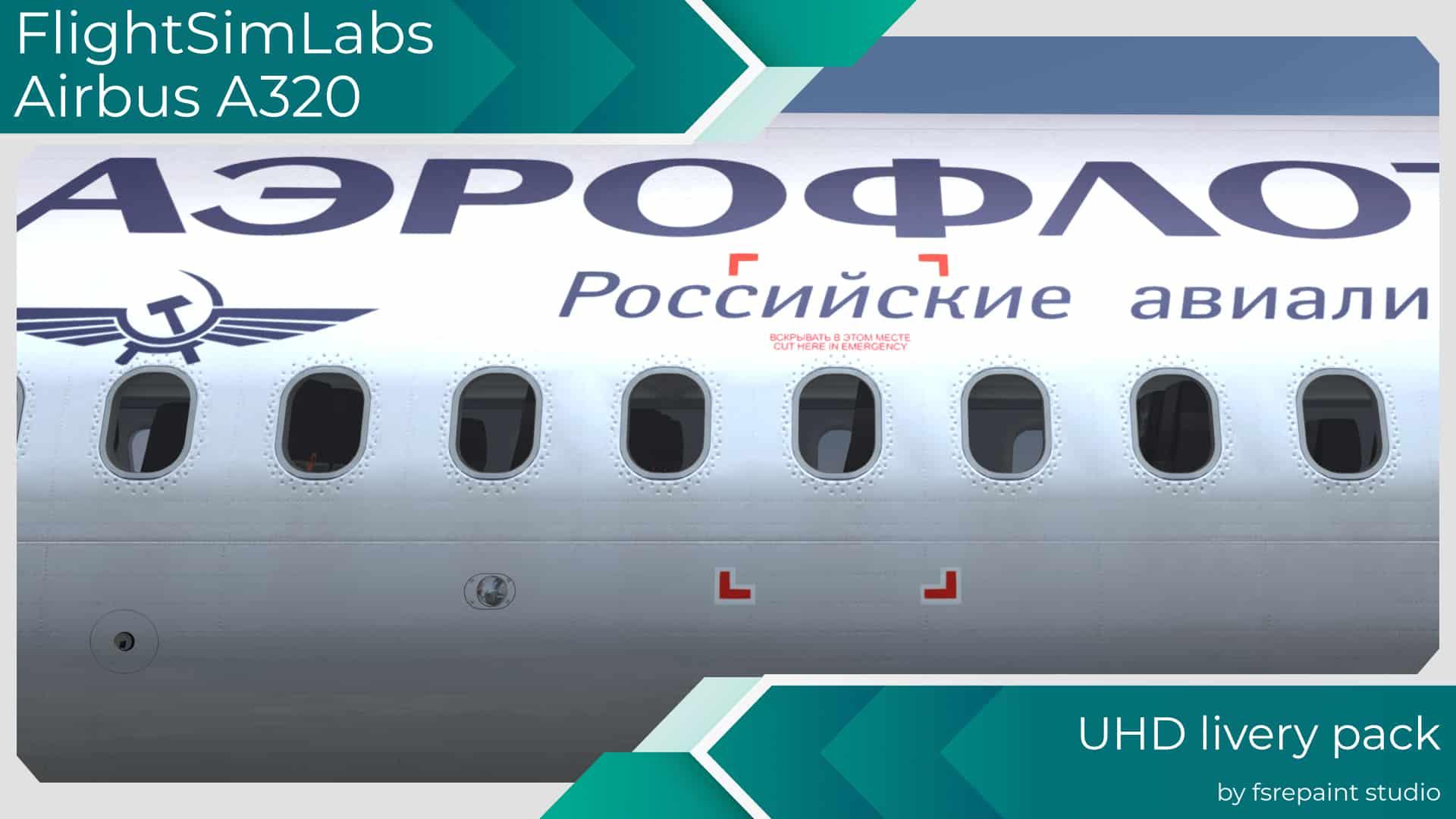 FSRepaint – FSLabs A320 Livery Pack 1 FSX P3D
