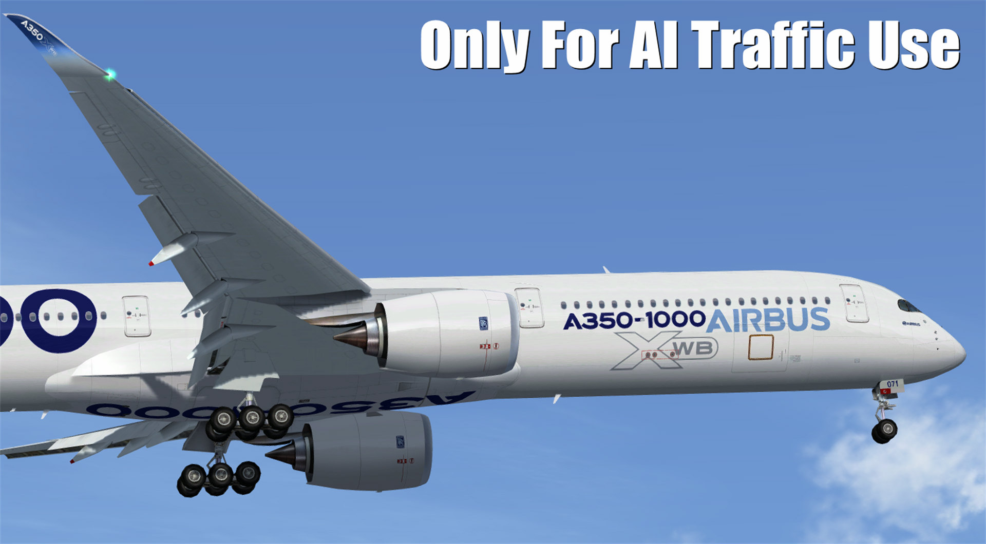 FSPXAI – Airbus A350XWB V2 for AI Traffic