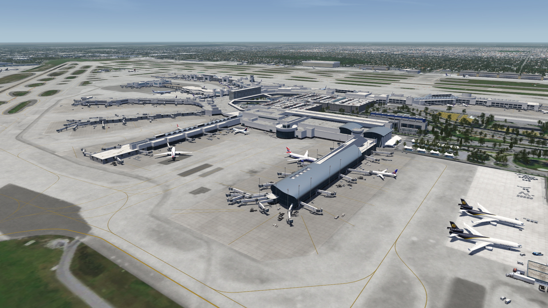 Usa South Florida For Aerofly Fs 2