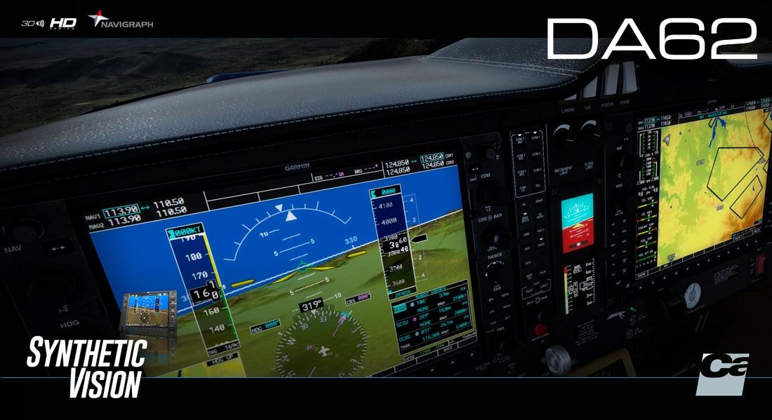 Carenado – DA62 G1000 FSX P3D