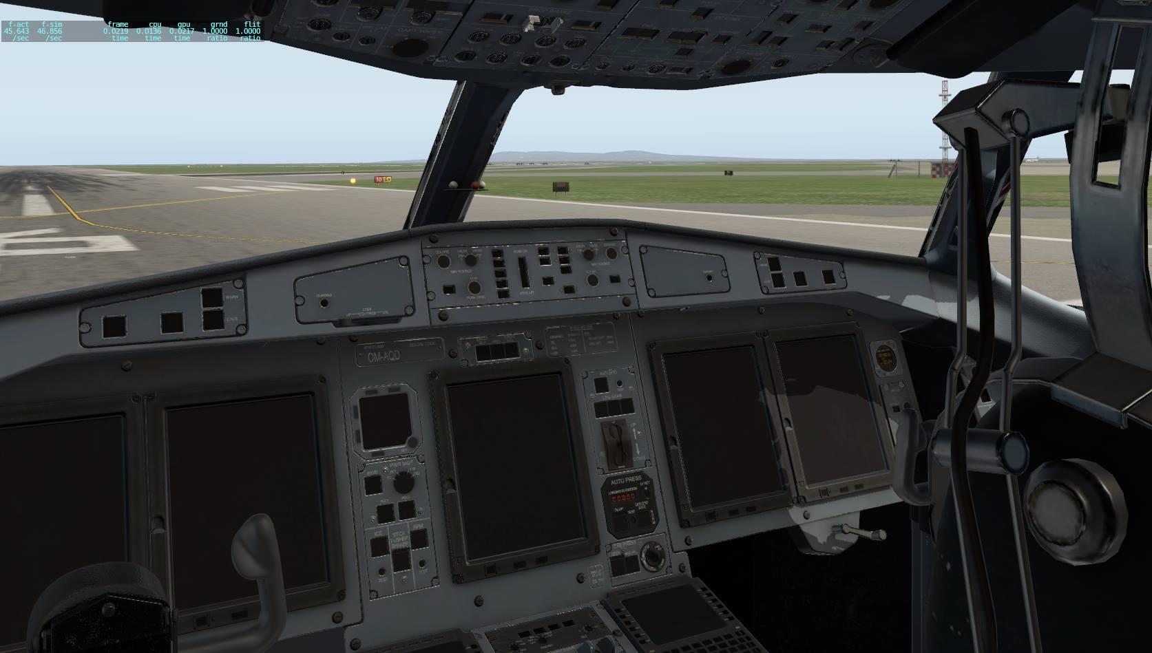 MilViz – ATR Virtual Cockpit Preview in X-Plane