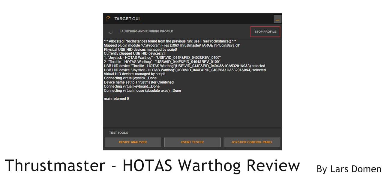 Thrustmaster – HOTAS Warthog Review