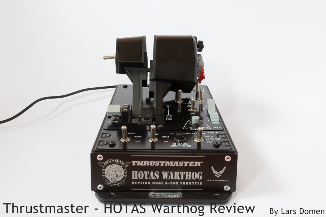 Thrustmaster – HOTAS Warthog Review