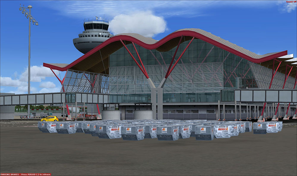Aerosoft – Mega Airport Madrid Evolution FSX