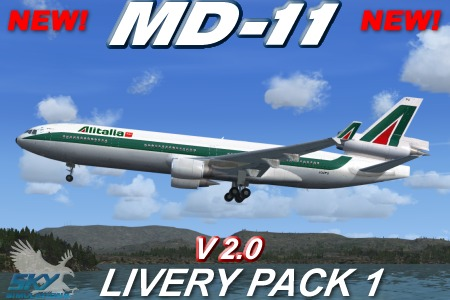 Sky Simulations – MD-11 V2 Livery Pack 1