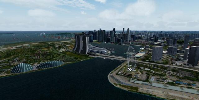 SamScene – Singapore City WOW For FSX P3D