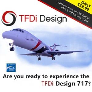 TFDI DESIGN - 717 P3D FSX
