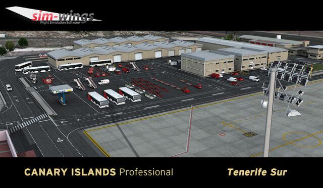 Aerosoft – Canary Islands Professional Tenerife Sur P3D4