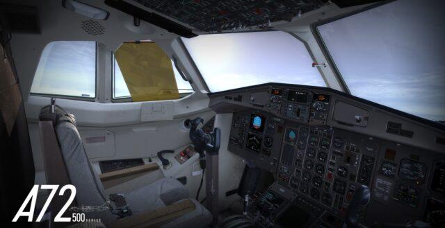 Carenado – New Project A72-500 P3D/FSX