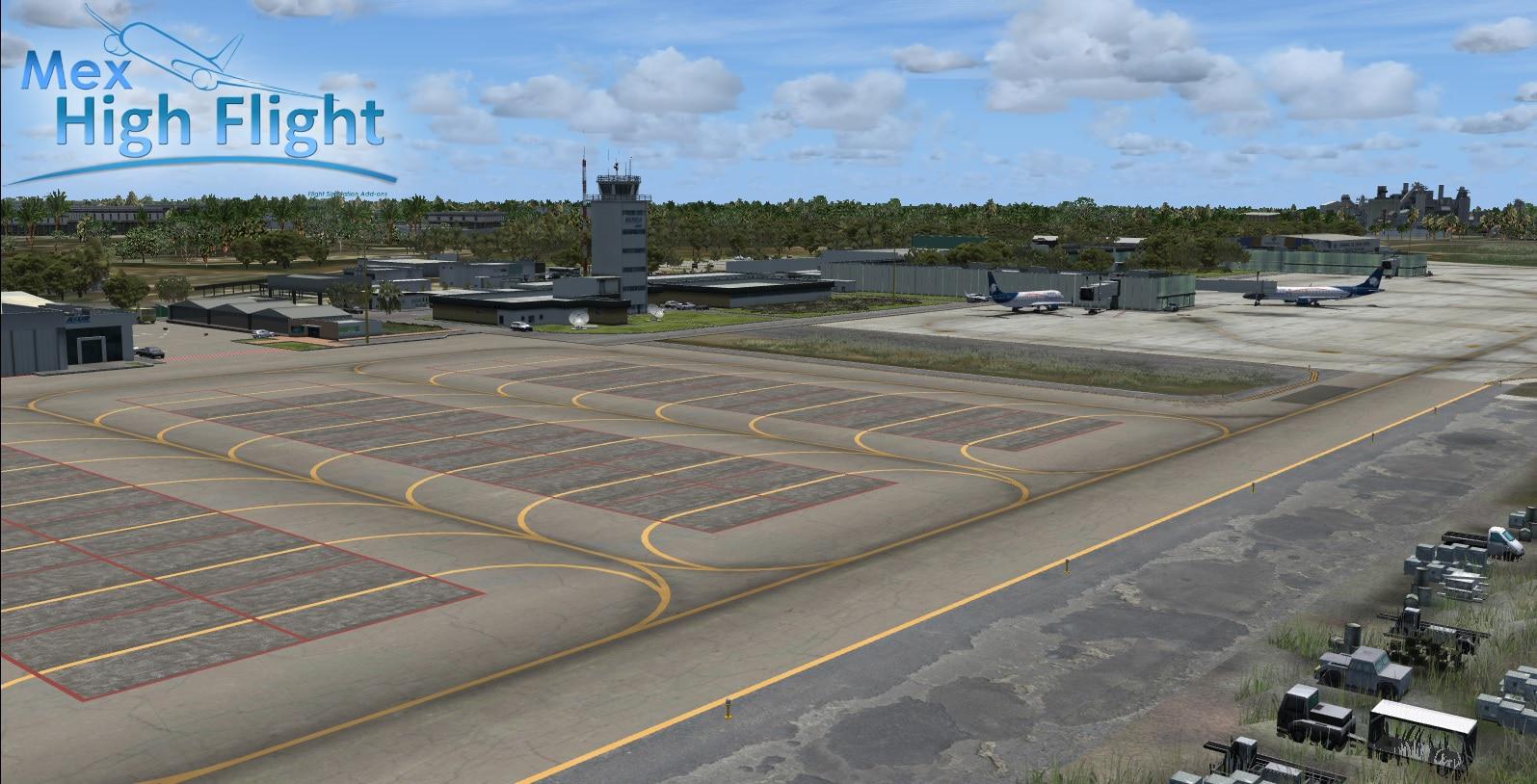 Mex High Flight – MMMD Merida Intl Airport FSX
