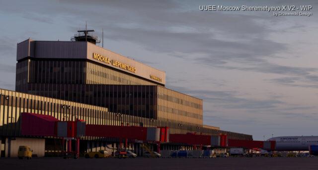 Drzewiecki Design – UUEE Moscow Sheremetyevo X V2 Preview