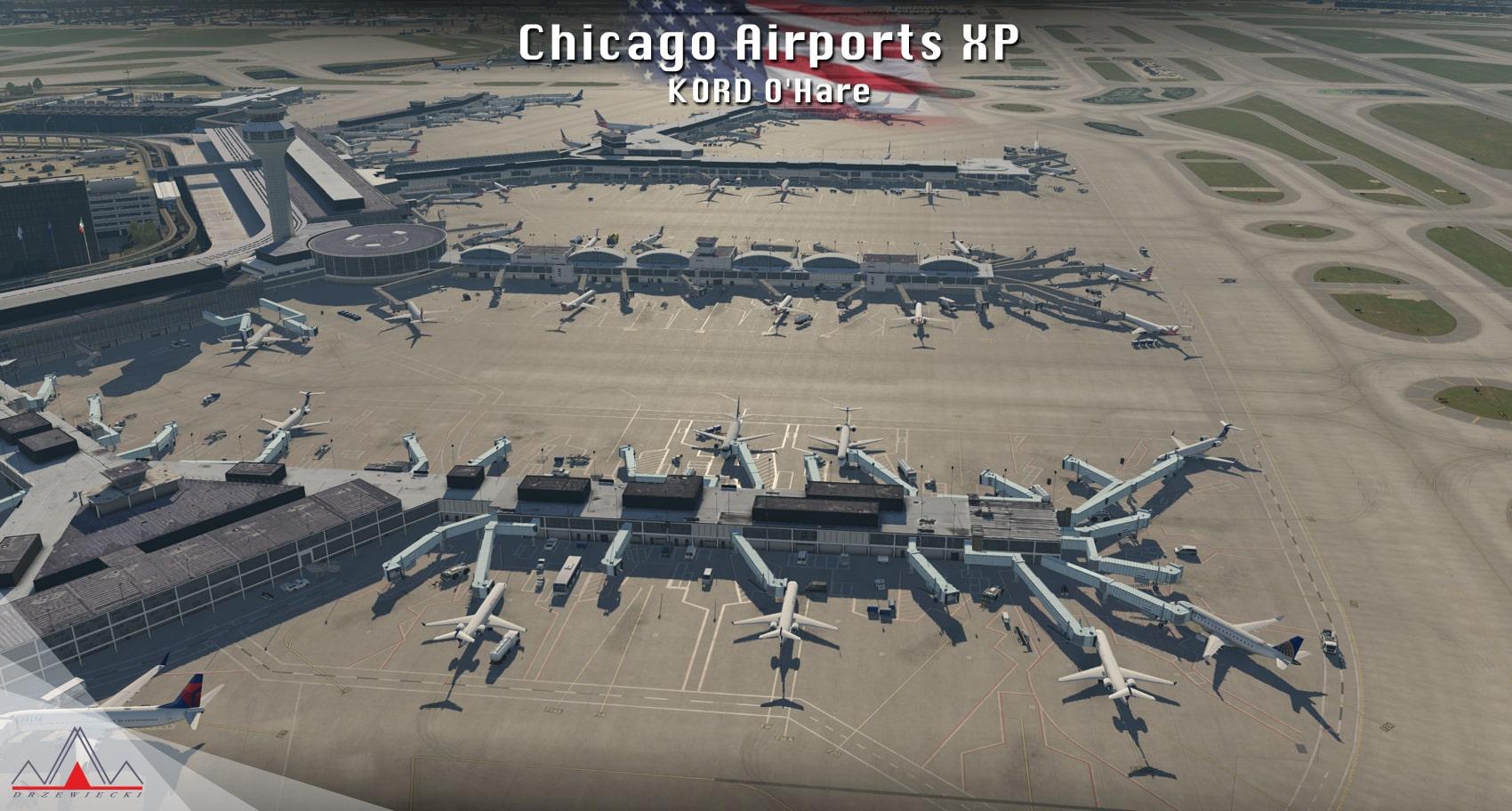 Drzewiecki Design – Chicago City & Airports XP