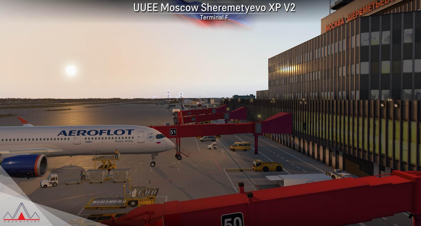 Drzewiecki Design – UUEE Moscow Sheremetyevo XP V2
