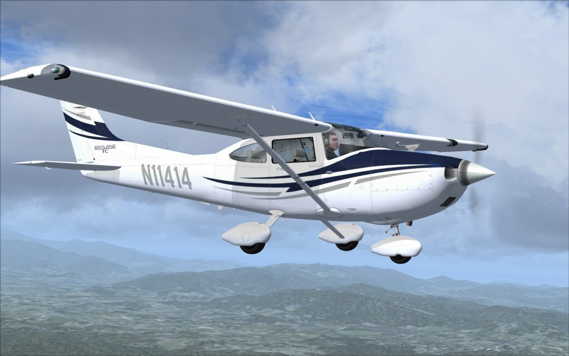 Flight1 182T Skylane Now Free for P3D v3/v2 & FSX