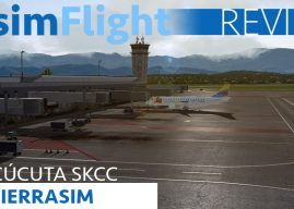 REVIEW : Sierrasim Cúcuta Camilo Daza International Airport P3D