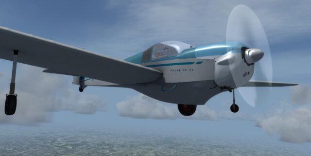 Just-Flight-Falke-SF-25-P3D-640x321 Just Flight - Falke SF-25 P3D