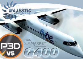 Majestic Software Dash 8 Q400 P3D has been updated for P3D5 !