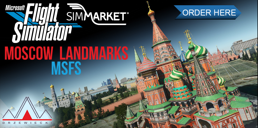 Drzewiecki Design – Moscow Landmarks MSFS
