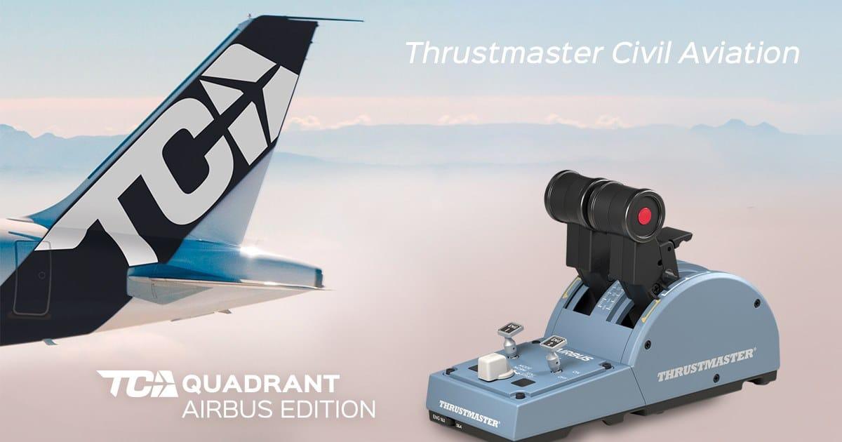 Thrustmaster_TCA_quadrant_Airbus_edition Thrustmaster TCA Quadrant Airbus Edition Delayed