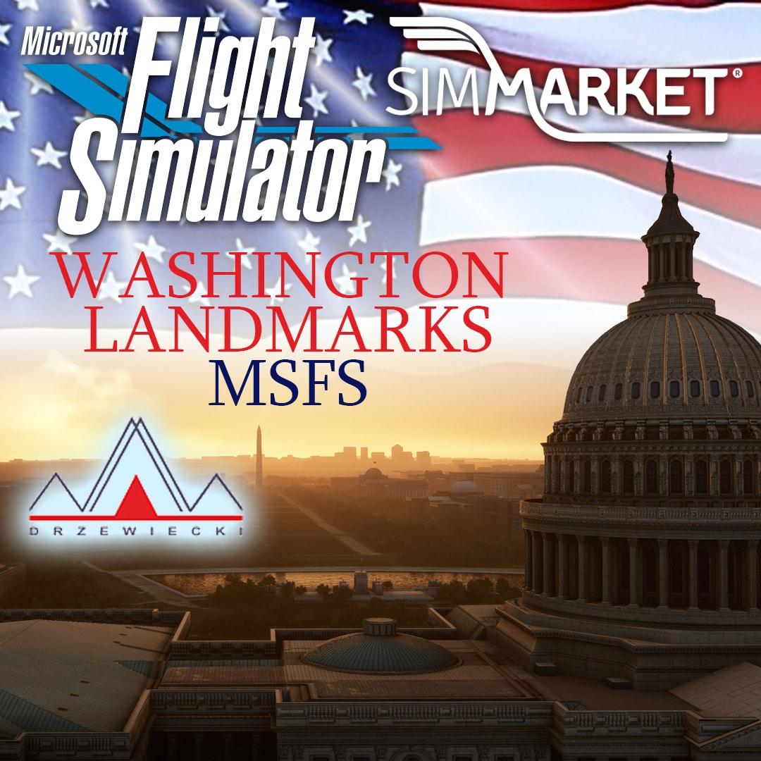 Drzewiecki Design – Washington Landmarks MSFS