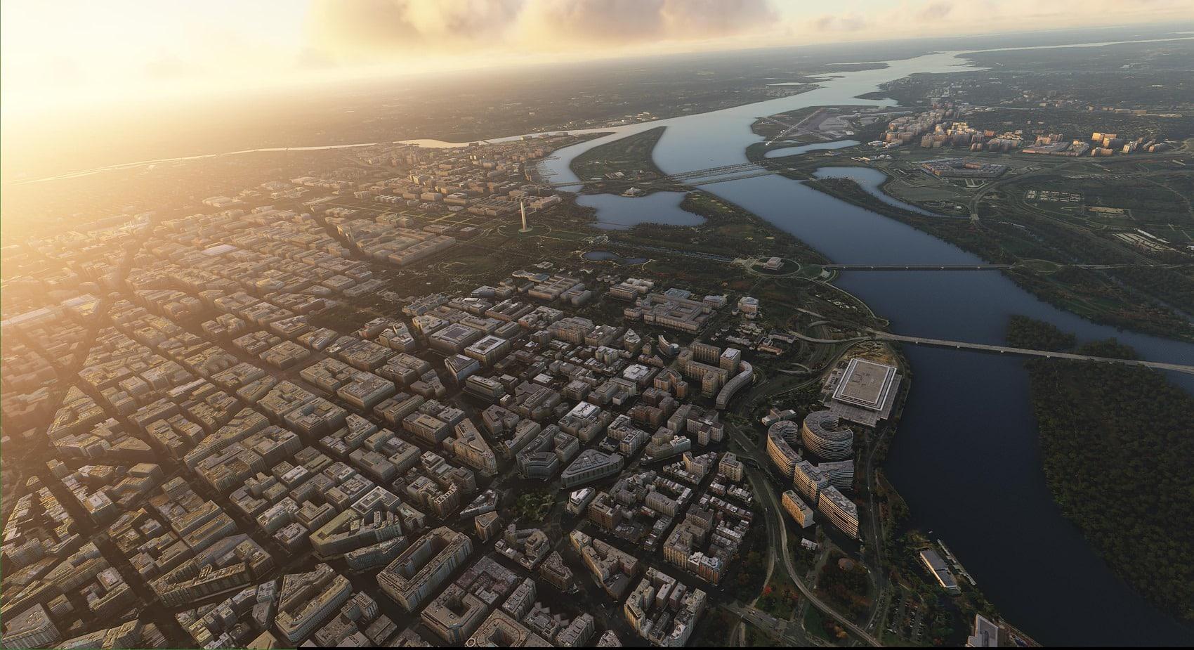 Drzewiecki Design – Washington Landmarks MSFS Announced