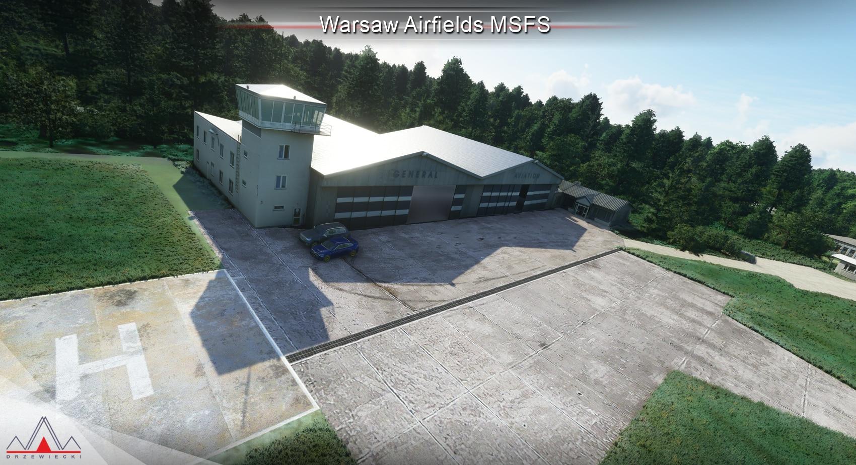 FREE : Drzewiecki Design – Warsaw Airfields MSFS