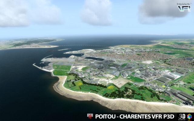 France-VFR-Poitou-Charentes-VFR-3DA-P3D-FSX-01-640x400 France VFR Poitou-Charentes VFR 3DA for P3Dv5/P3Dv4 or FSX