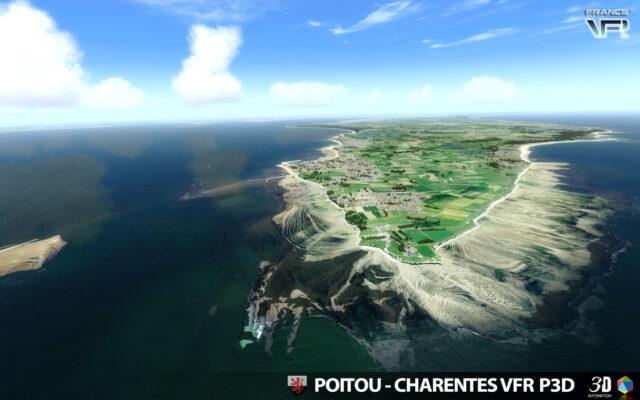 France-VFR-Poitou-Charentes-VFR-3DA-P3D-FSX-02-640x400 France VFR Poitou-Charentes VFR 3DA for P3Dv5/P3Dv4 or FSX