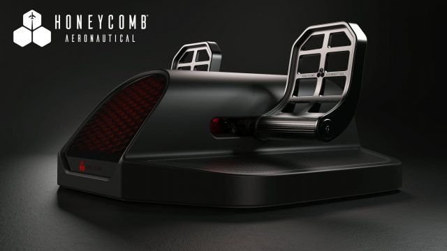Hoenycomb-Charlie-Rudder-Pedals-640x360 Honeycomb - First Pic of Charlie Rudder Pedals