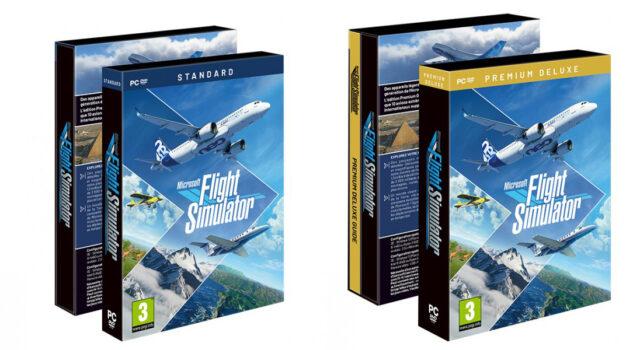 Microsoft-Flight-Simulator_boxes-640x350 Microsoft Flight Simulator Boxes in Stock Again : Standard and Premium Deluxe